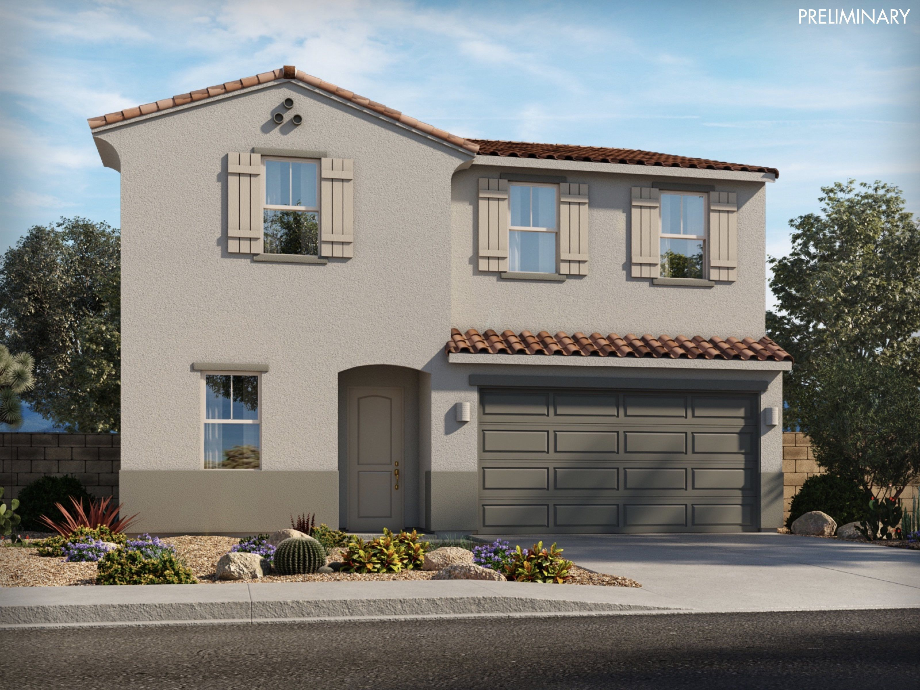 Exterior featured in the Marble By Meritage Homes in Tucson, AZ