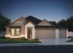 The Preston (C403) - Homestead at Old Settlers Park: Round Rock, Texas - Meritage Homes