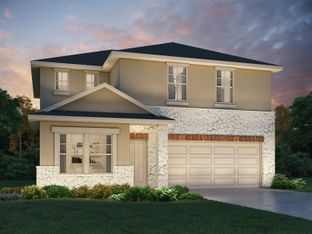 The Winedale (880) - Turner's Crossing - Traditional Collection: Austin, Texas - Meritage Homes