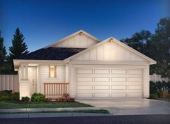 The Cascade (330) - Turner's Crossing - Craftsman Collection: Austin, Texas - Meritage Homes