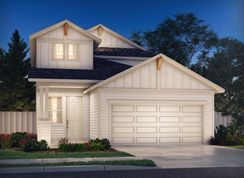 The Olympic (380) - Turner's Crossing - Craftsman Collection: Austin, Texas - Meritage Homes