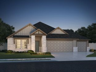 The Henderson (C404) - Homestead at Old Settlers Park: Round Rock, Texas - Meritage Homes