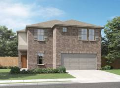 The Channing (850) - Legendary Trails - Premier Series: Cibolo, Texas - Meritage Homes