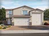 Sanctuary at Desert Oasis por Meritage Homes en Phoenix-Mesa Arizona