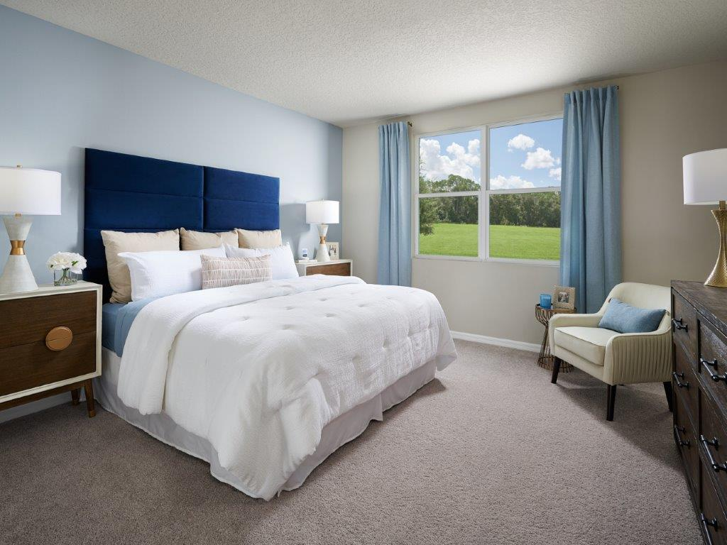 Bedroom featured in the Hibiscus By Meritage Homes in Lakeland-Winter Haven, FL