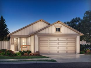 The Congaree (340) - Turner's Crossing - Americana Collection: Austin, Texas - Meritage Homes