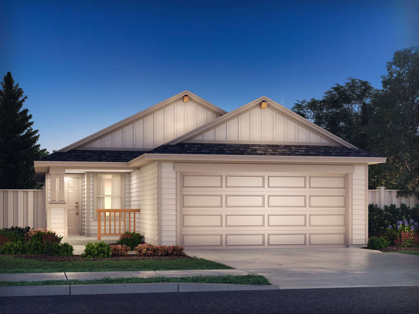 Exterior featured in The Teton (320) By Meritage Homes in Austin, TX