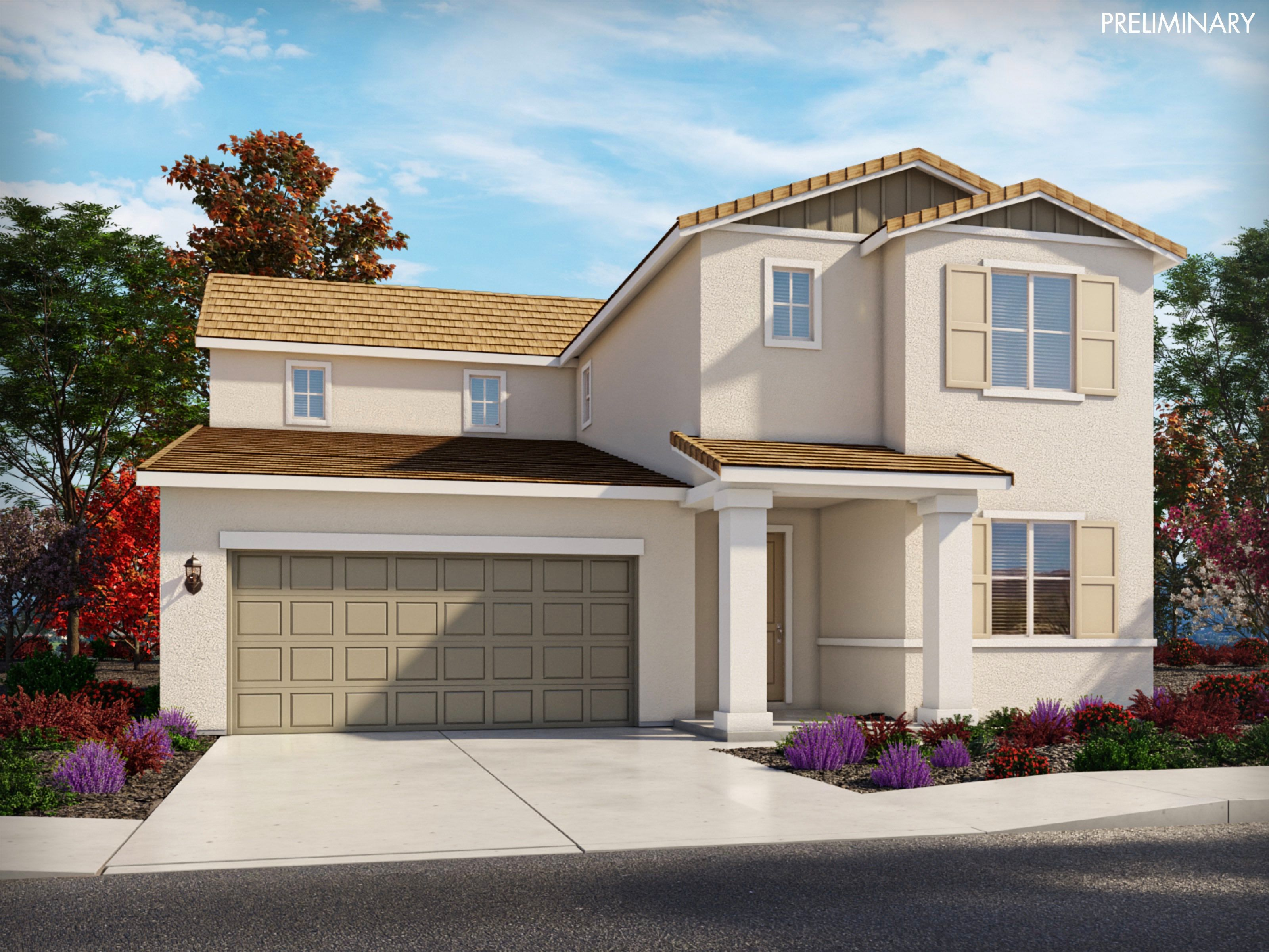 Exterior featured in the Residence 5 By Meritage Homes in Santa Cruz, CA