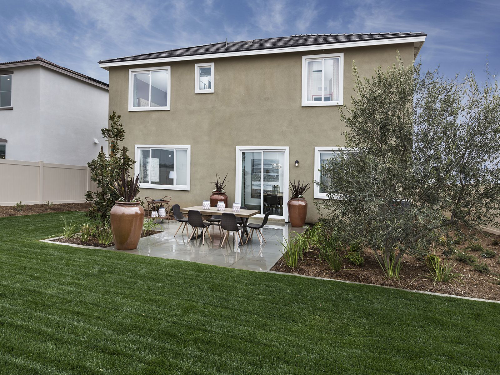 Exterior featured in the Residence 5 By Meritage Homes in Riverside-San Bernardino, CA