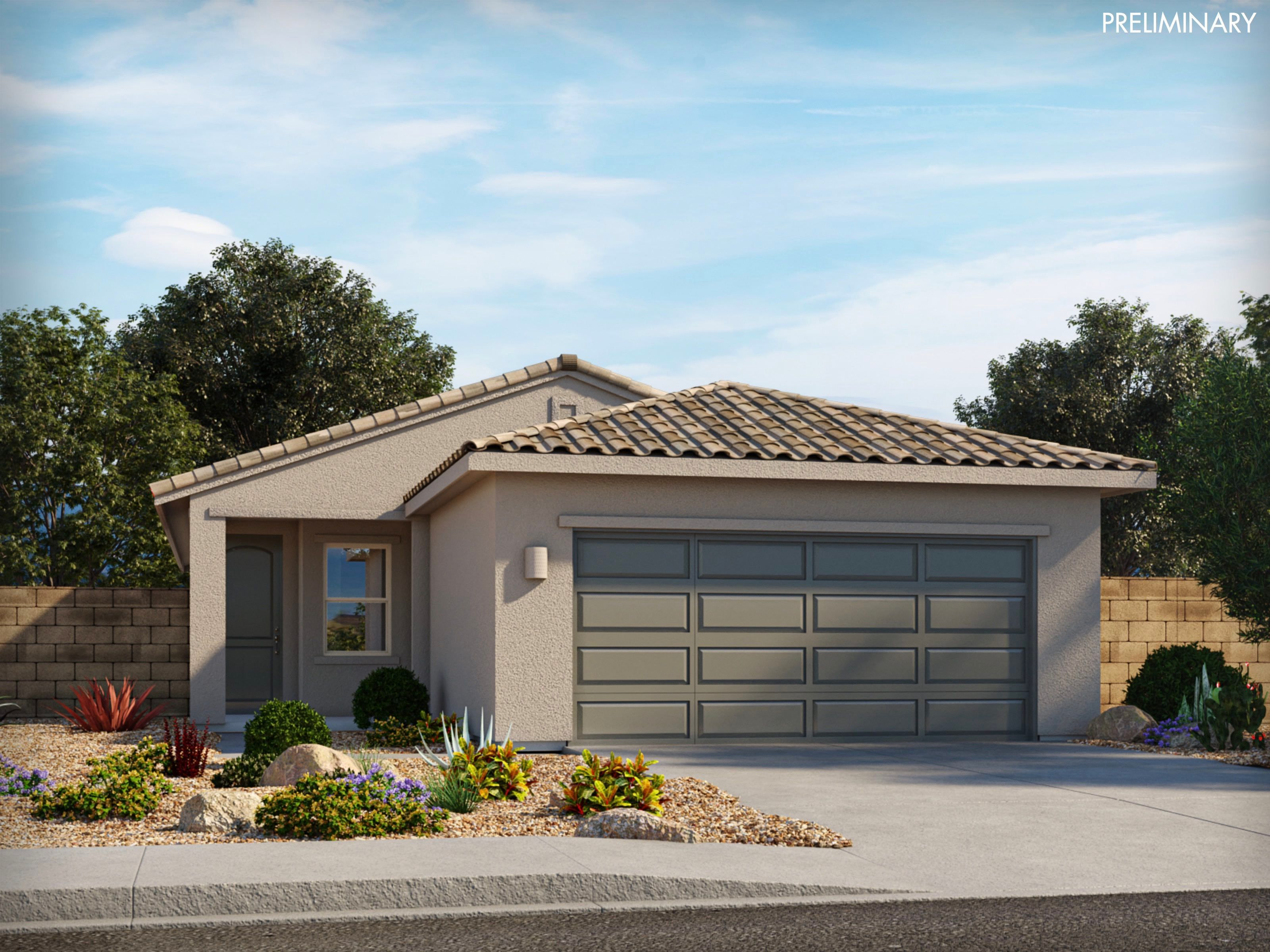 Exterior featured in the Ethan By Meritage Homes in Tucson, AZ