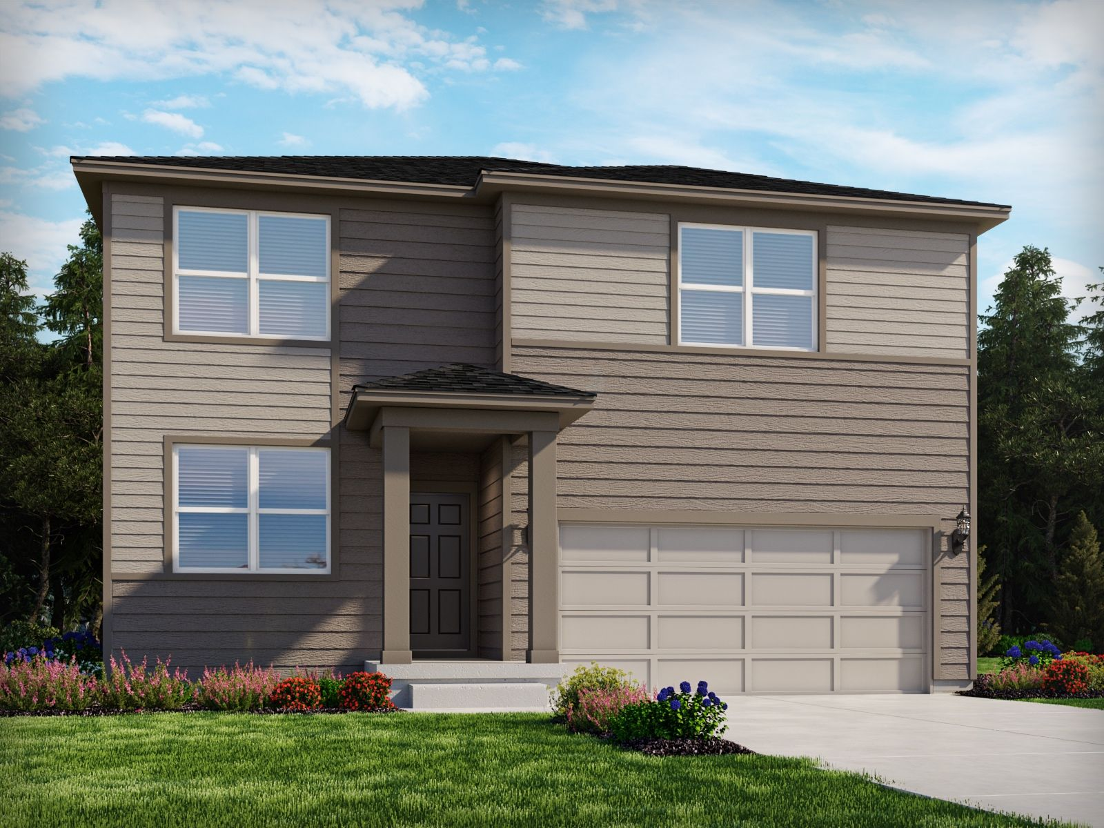 Exterior featured in The Bluebell By Meritage Homes in Denver, CO