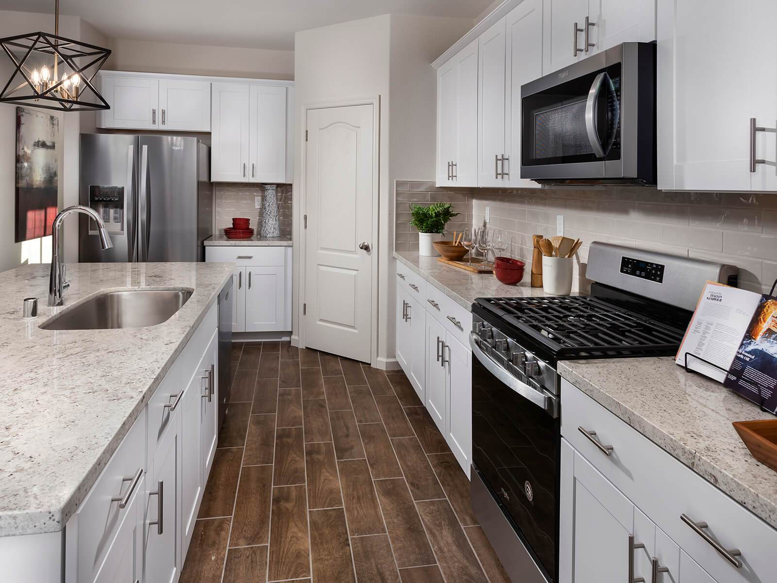Kitchen featured in the Residence 3 By Meritage Homes in Oakland-Alameda, CA