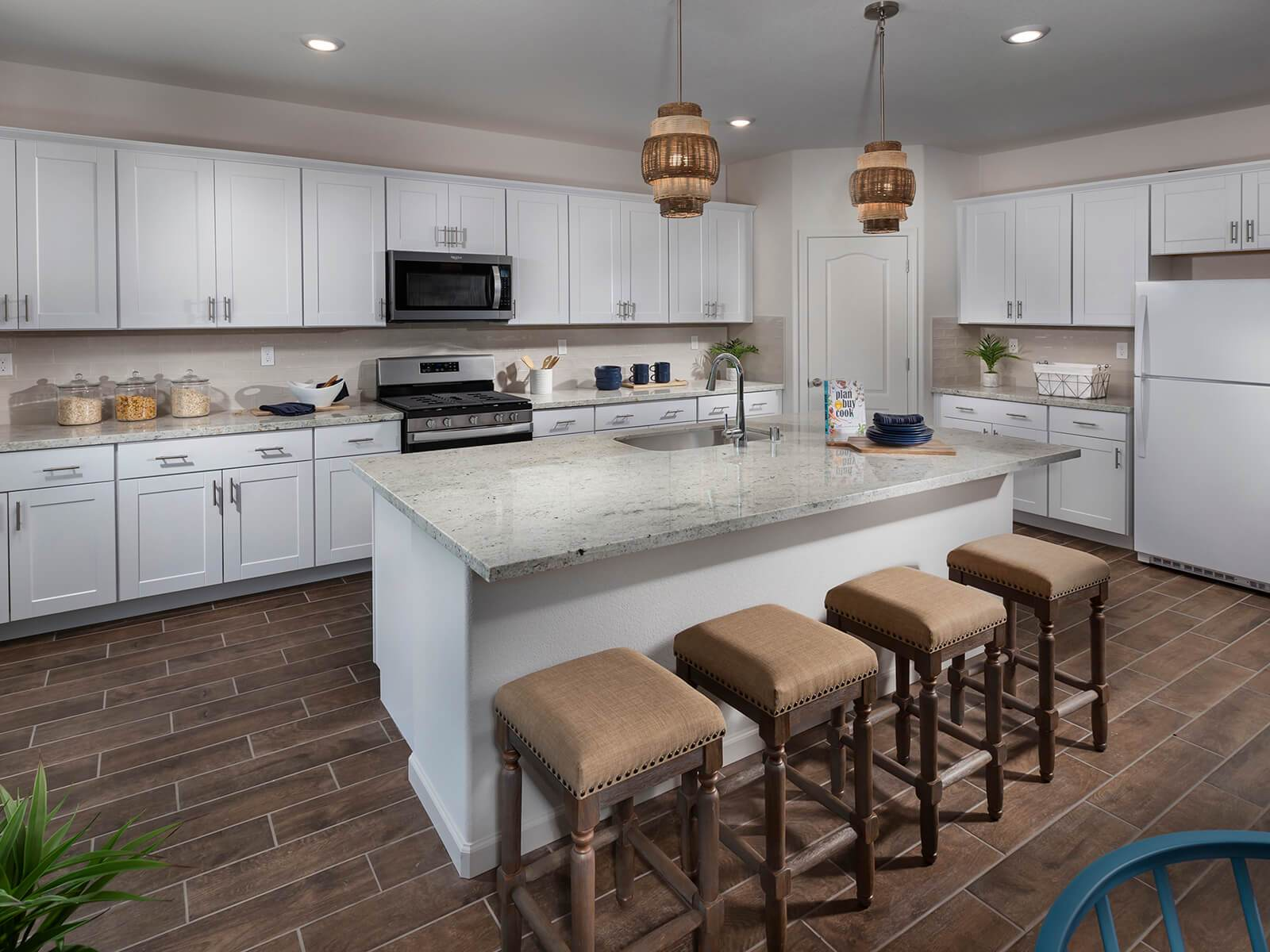Kitchen featured in the Residence 5 By Meritage Homes in Stockton-Lodi, CA