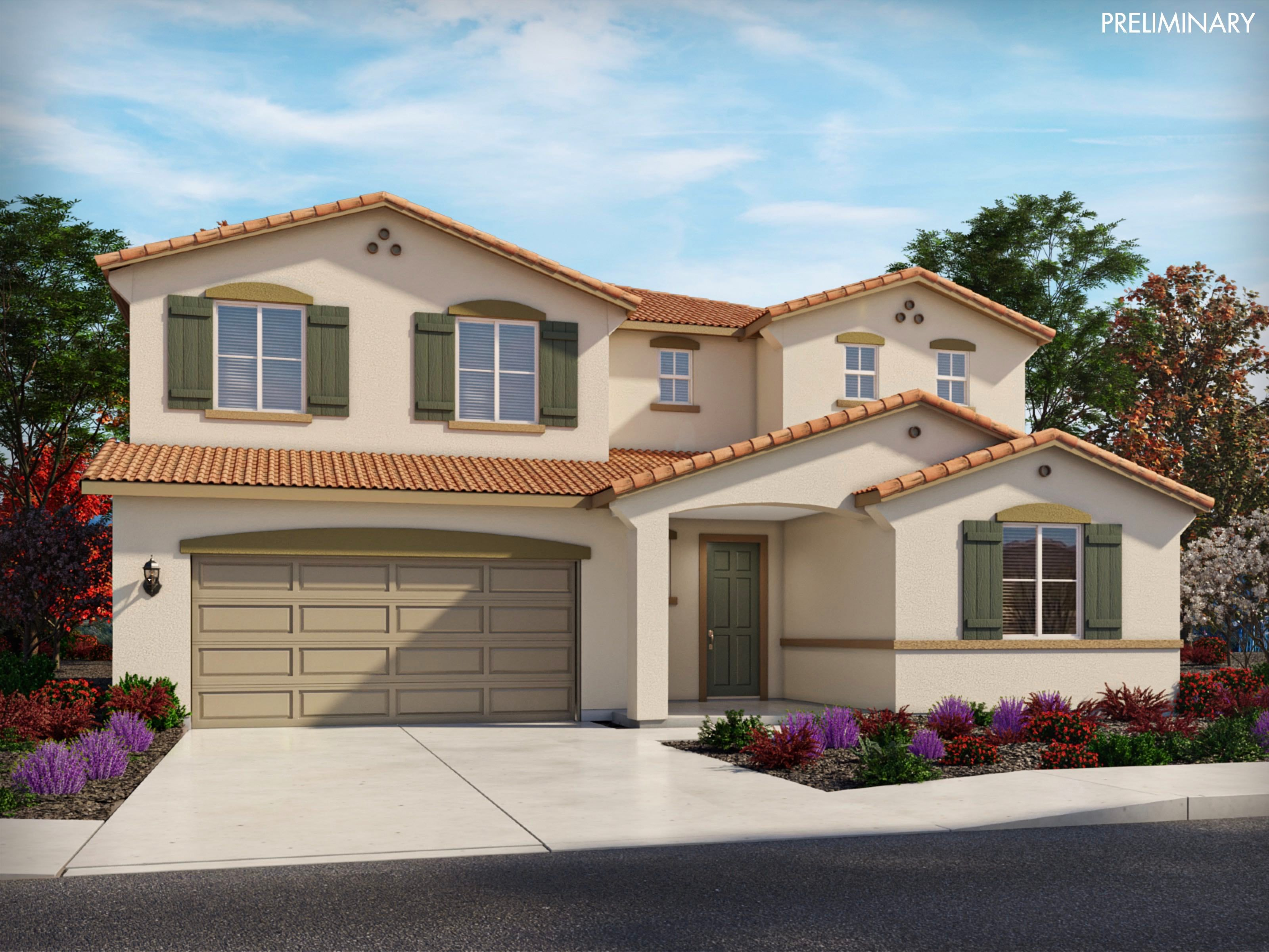 Exterior featured in the Residence 8 By Meritage Homes in Santa Cruz, CA