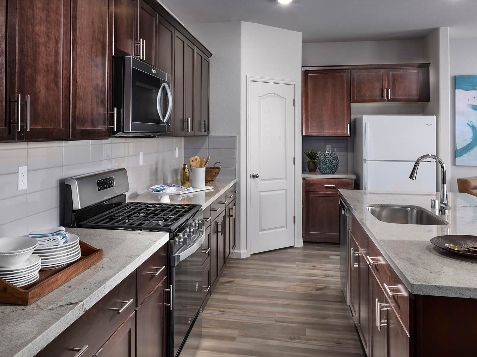 Kitchen featured in the Residence 3 By Meritage Homes in Stockton-Lodi, CA