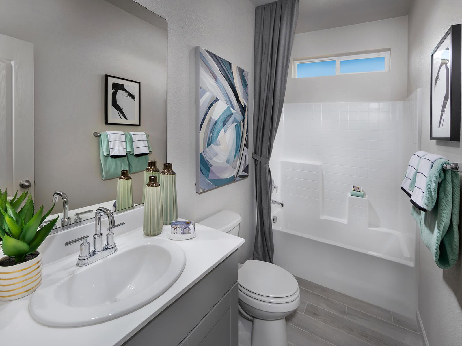 Bathroom featured in the Residence 1 By Meritage Homes in Oakland-Alameda, CA