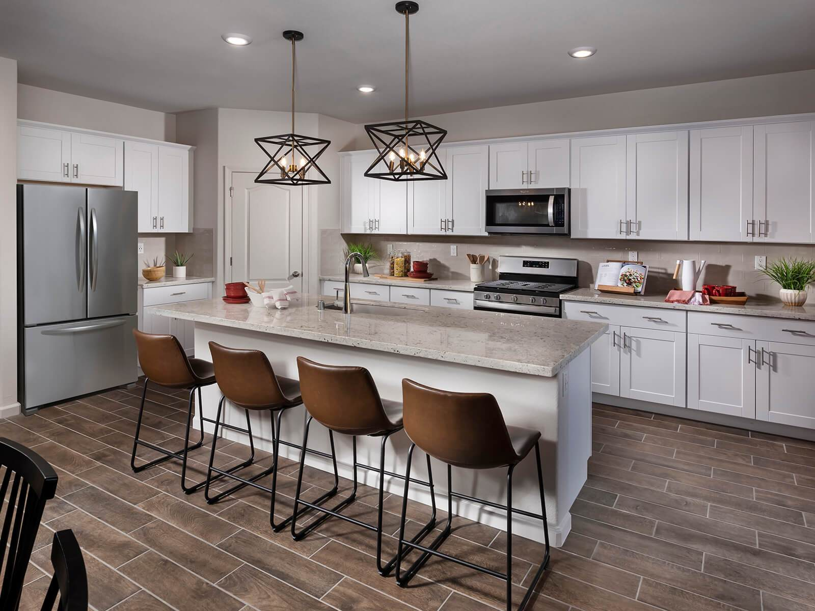 Kitchen featured in the Residence 6 By Meritage Homes in Sacramento, CA