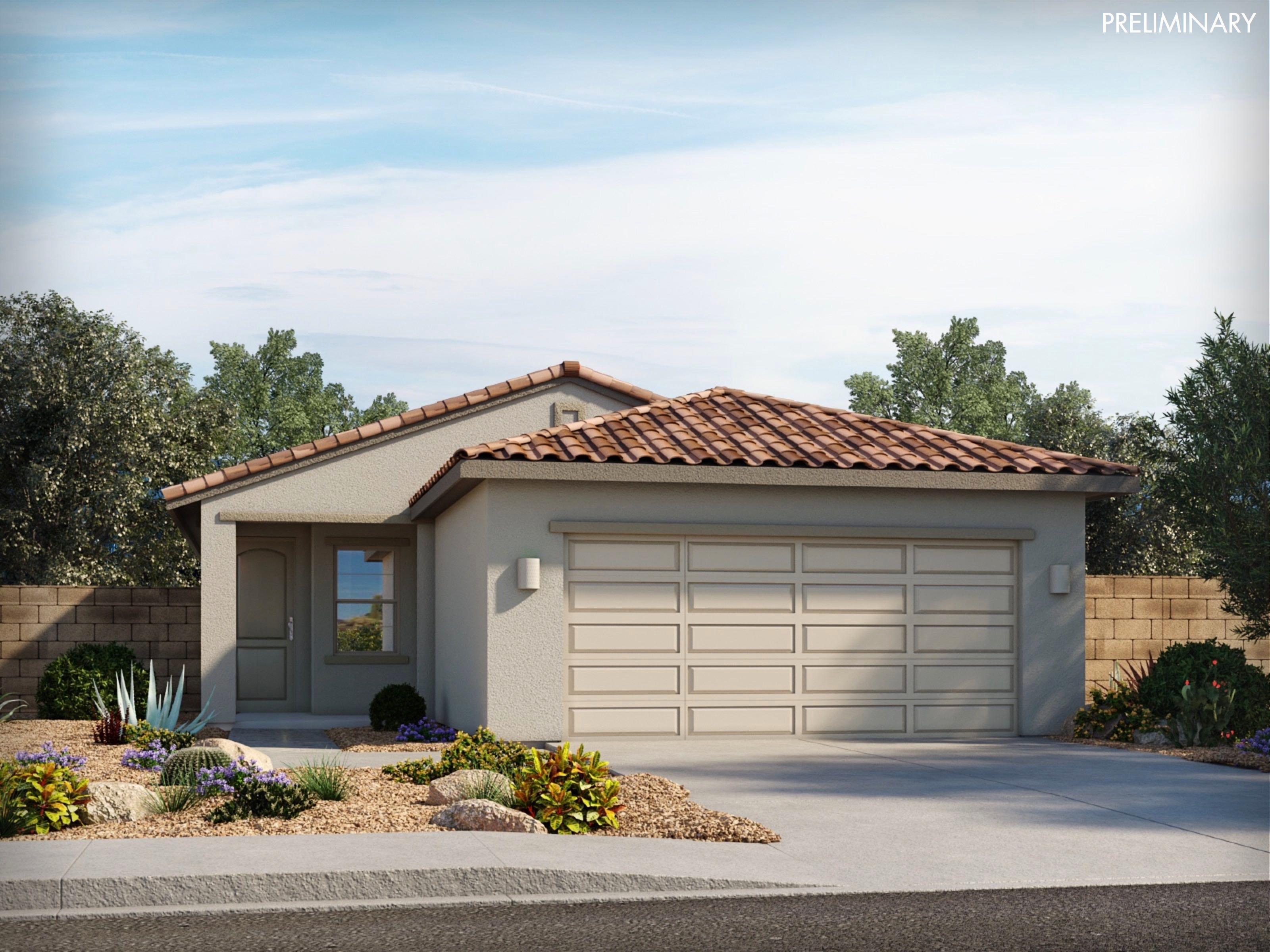 Exterior featured in the Cabo By Meritage Homes in Tucson, AZ