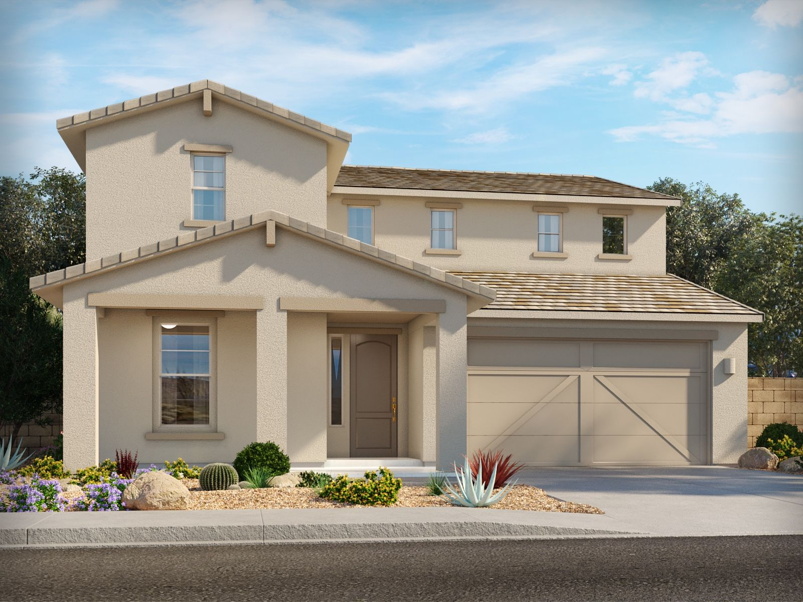 Exterior featured in the Loma By Meritage Homes in Tucson, AZ