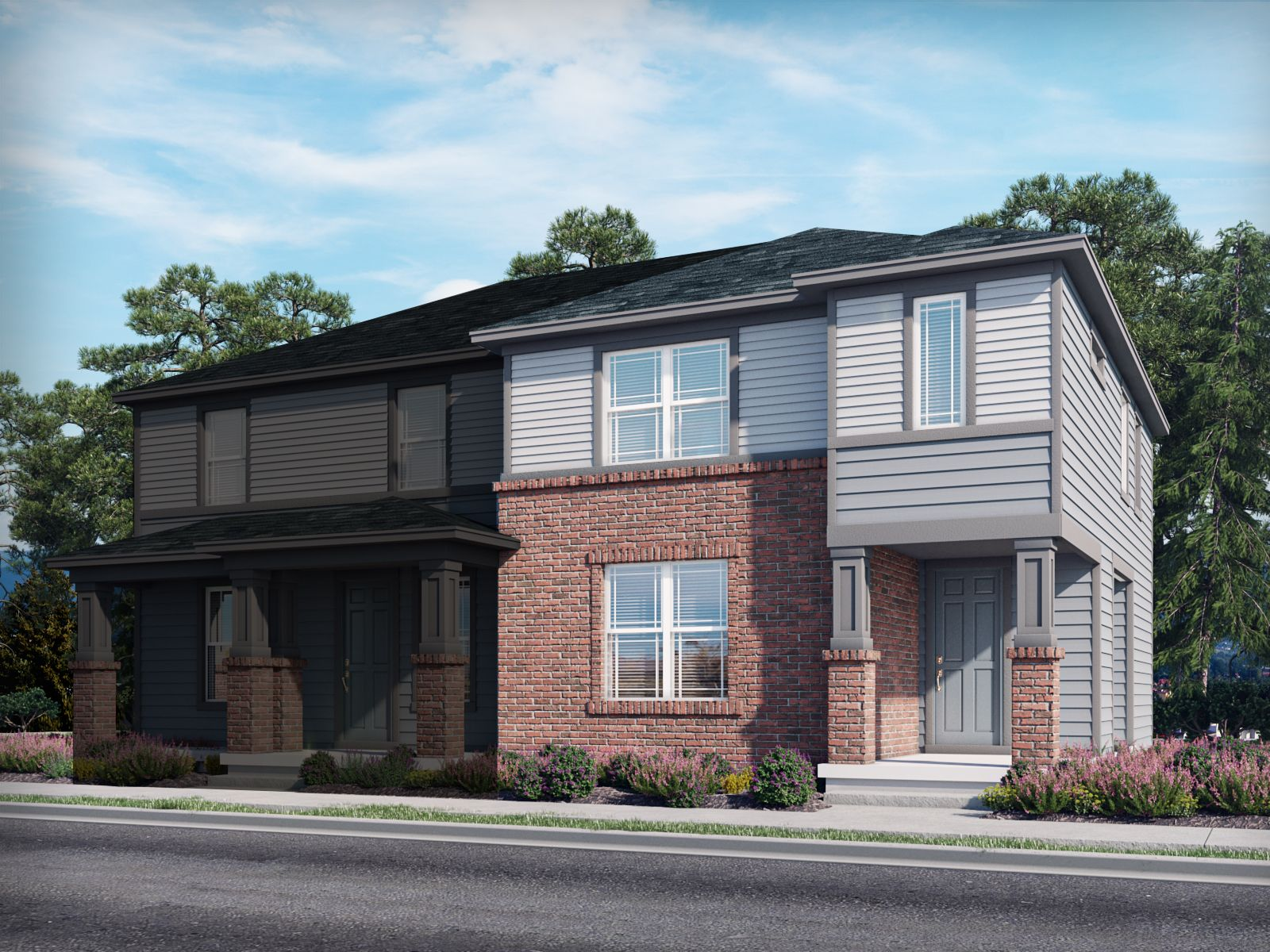 Exterior featured in the Keystone By Meritage Homes in Denver, CO