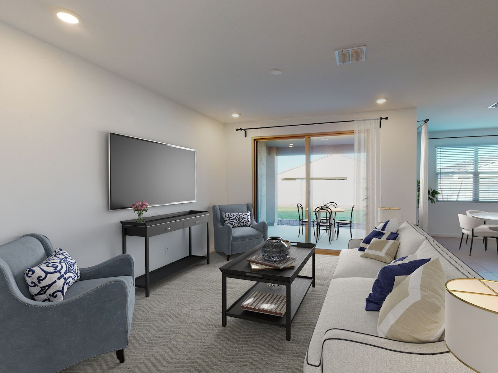 Living Area featured in the Onyx By Meritage Homes in Phoenix-Mesa, AZ