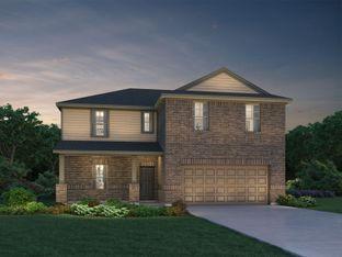 The Royal (C480) - Harper's Preserve - Classic Series: Conroe, Texas - Meritage Homes