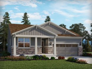 The Glenwood - Meadowlark: The Flora Collection: Parker, Colorado - Meritage Homes