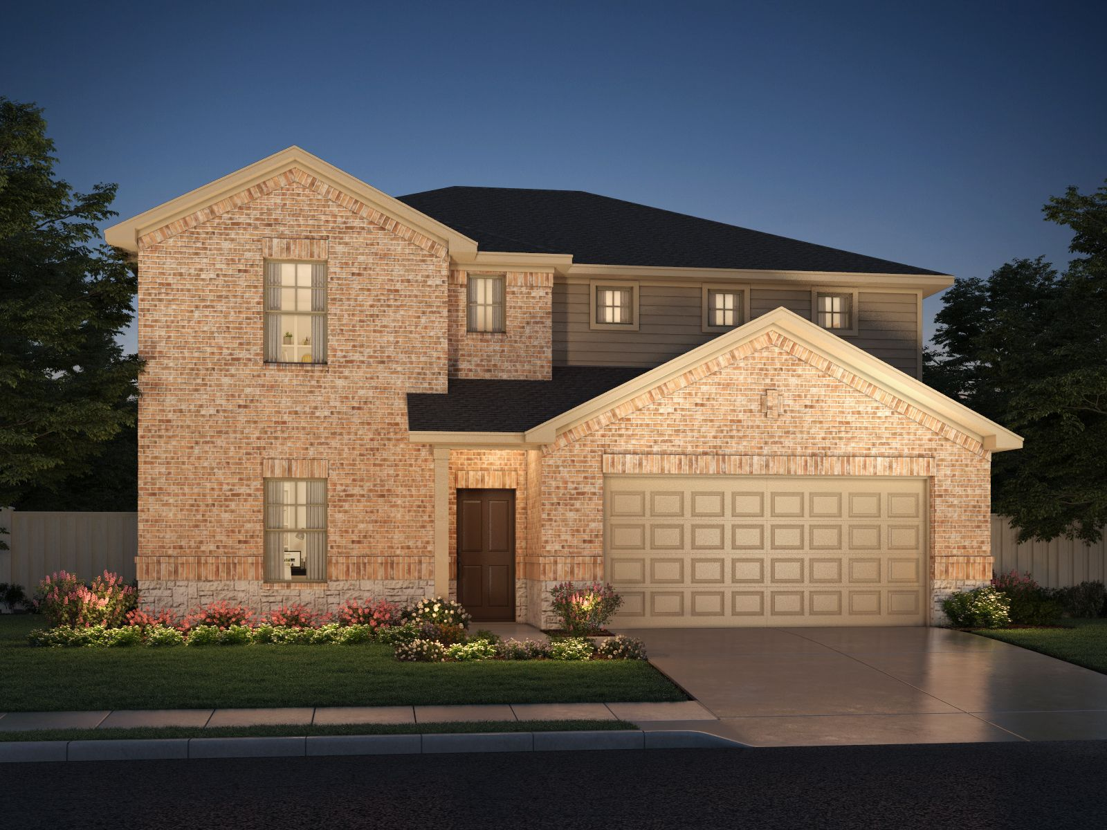 Exterior featured in The Kessler By Meritage Homes in Dallas, TX