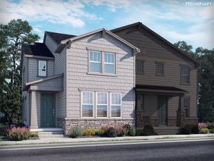 Aspen - Prospect Village at Sterling Ranch: Paired Homes: Littleton, Colorado - Meritage Homes