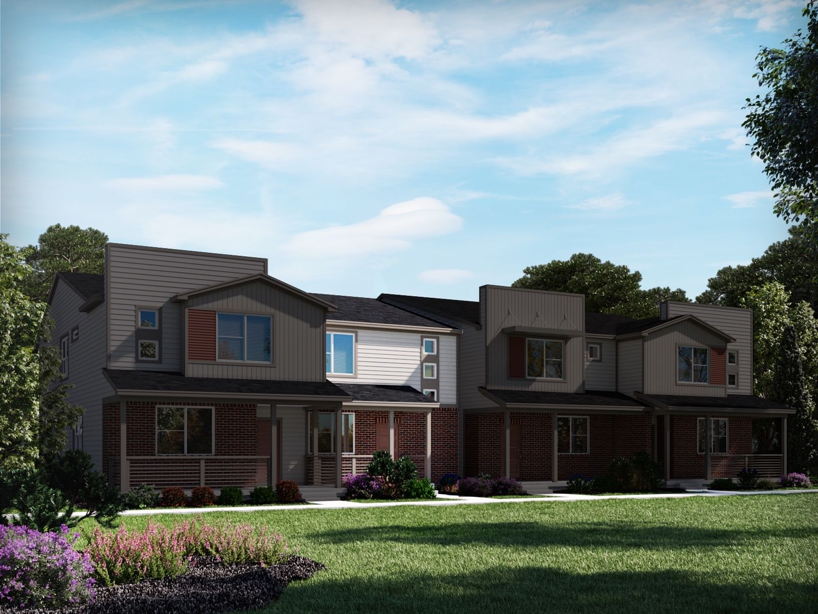 Exterior featured in the Brook By Meritage Homes in Denver, CO