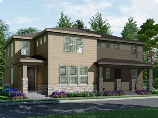 The Nederland - Village at Southgate: The Town Collection: Brighton, Colorado - Meritage Homes