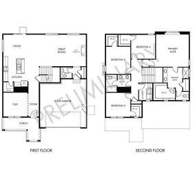The Castlewood - Villages at Prairie Center: Brighton, Colorado - Meritage Homes