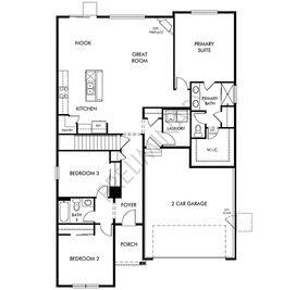 The Eldorado - Villages at Prairie Center: Brighton, Colorado - Meritage Homes
