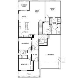 The Northgate - Villages at Prairie Center: Brighton, Colorado - Meritage Homes