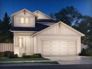 The Olympic (380) - MorningStar - Americana Collection: Georgetown, Texas - Meritage Homes
