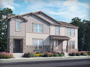Keystone - Prospect Village at Sterling Ranch: Paired Homes: Littleton, Colorado - Meritage Homes
