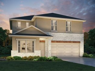 The Winedale (880) - Turner's Crossing - Reserve Collection: Buda, Texas - Meritage Homes