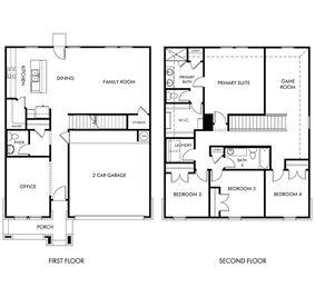 The McCoy (860) - Scenic Crest - Premier Series: Boerne, Texas - Meritage Homes