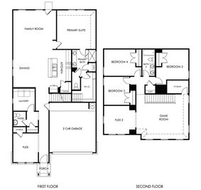 The Reynolds (890) - Scenic Crest - Premier Series: Boerne, Texas - Meritage Homes