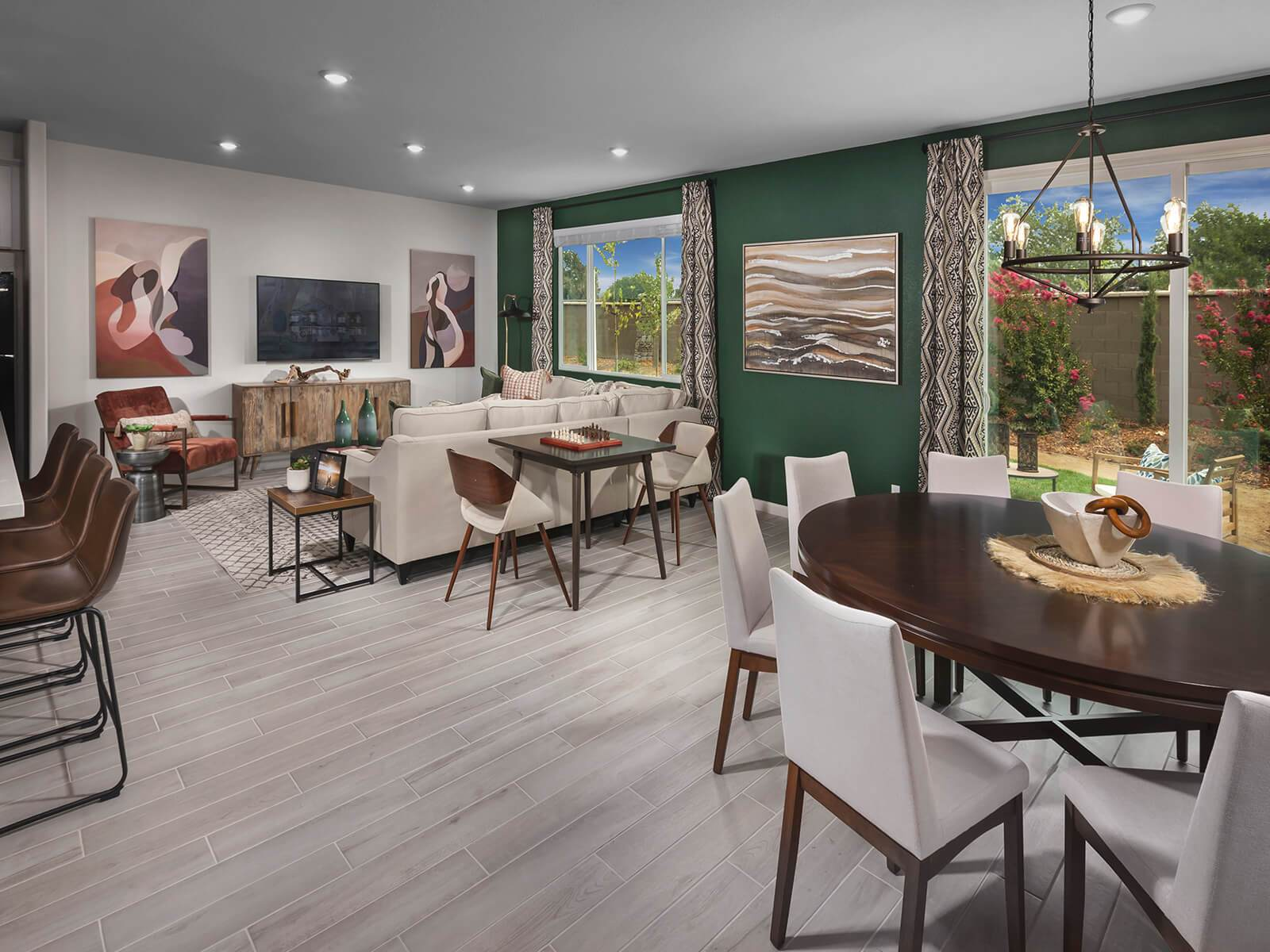 Living Area featured in the Residence 3 By Meritage Homes in Sacramento, CA