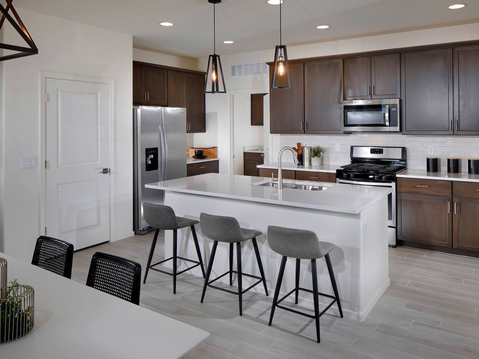 Kitchen featured in the Rillito By Meritage Homes in Tucson, AZ