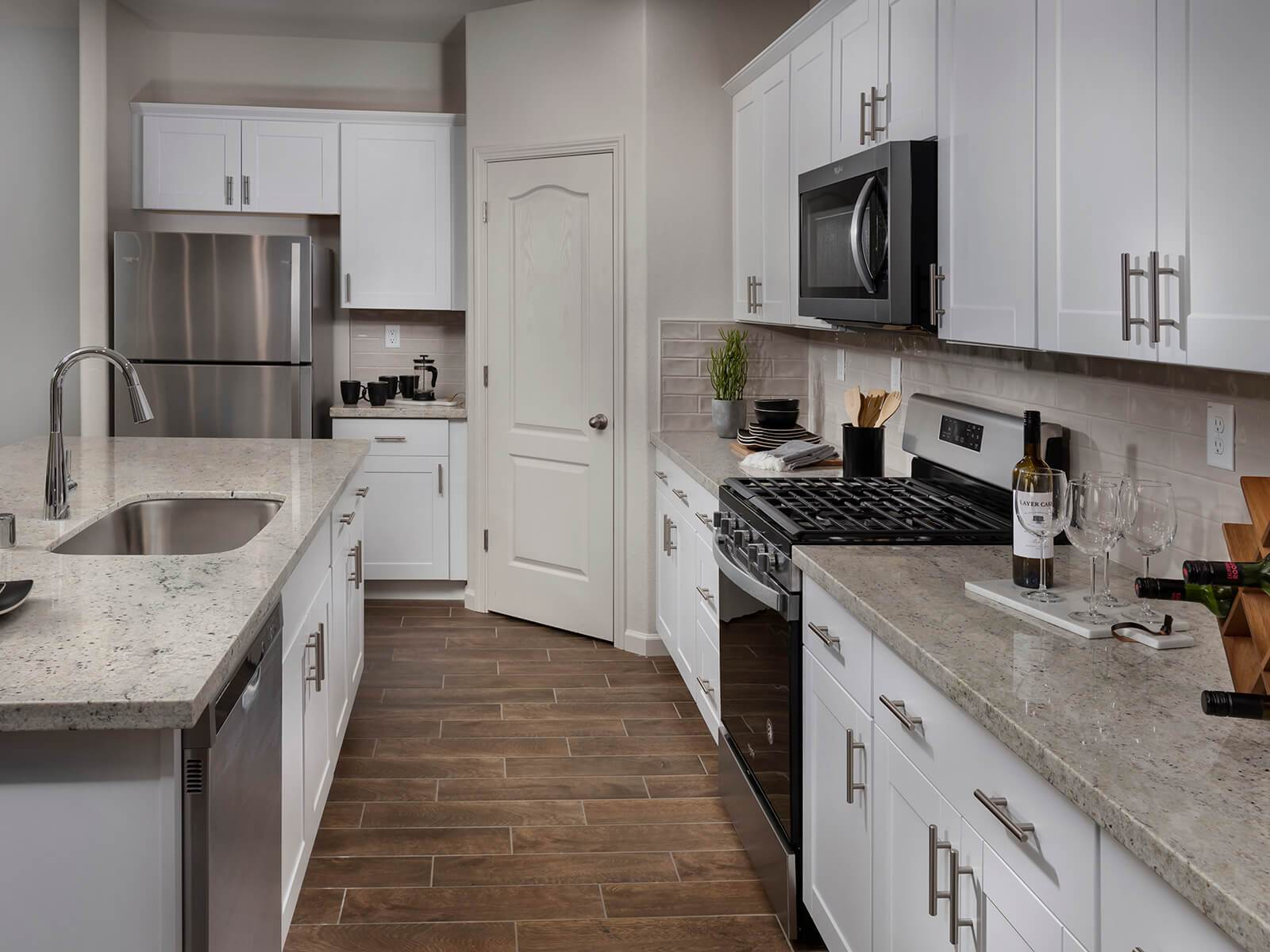 Kitchen featured in the Residence 4 By Meritage Homes in Santa Cruz, CA