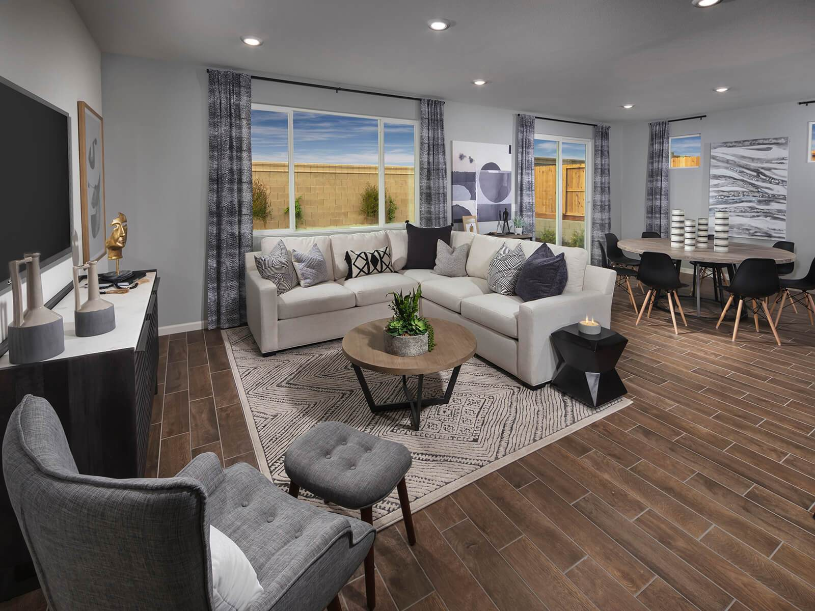 Living Area featured in the Residence 4 By Meritage Homes in Santa Cruz, CA