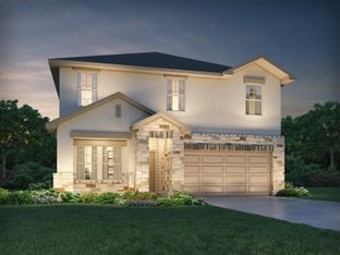 The McCoy (860) - MorningStar - Reserve Collection: Georgetown, Texas - Meritage Homes