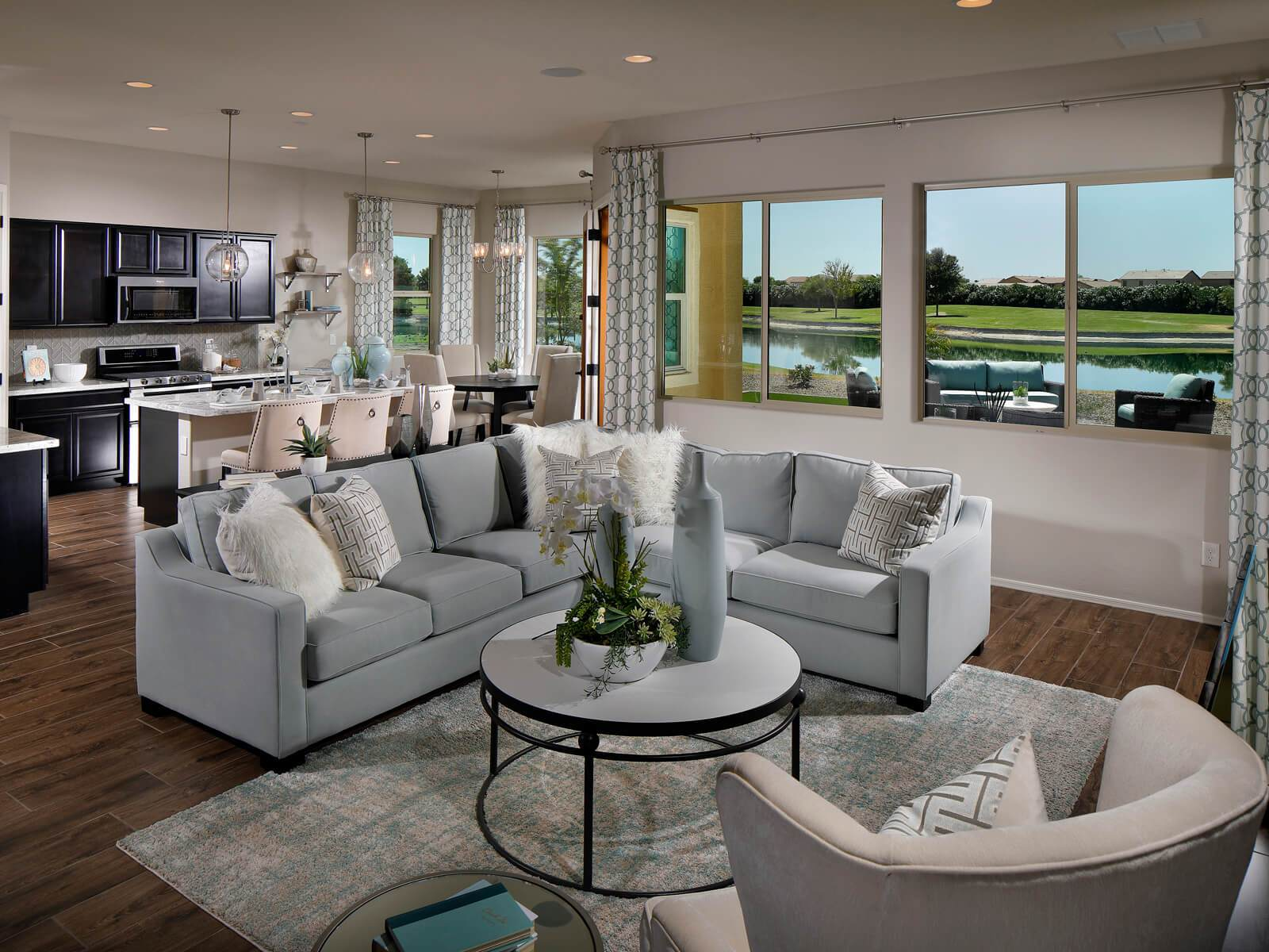 Living Area featured in the Dylan By Meritage Homes in Phoenix-Mesa, AZ