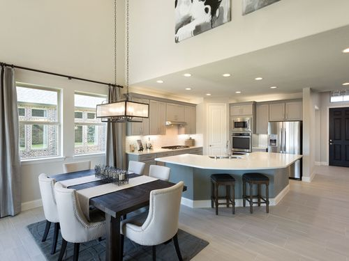 Kitchen-in-The Beech-at-Terrace Oaks - Reserve Series-in-Corinth