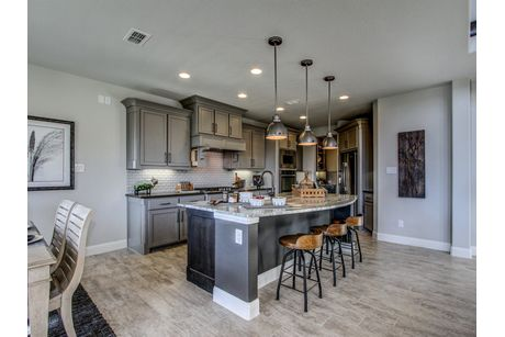 Kitchen-in-The Monroe-at-Trinity Falls - Parkside Collection-in-McKinney