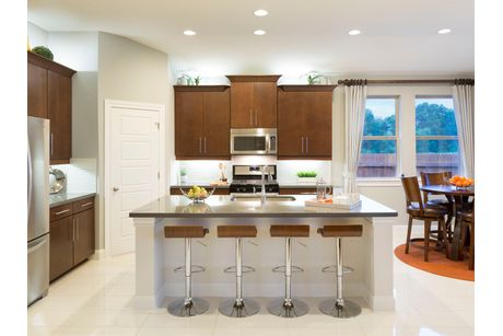 Kitchen-in-The Holly (4004)-at-Trails at Westpointe - Woodland Collection-in-San Antonio