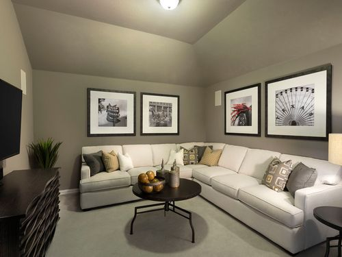 Media-Room-in-The Cedar-at-Terrace Oaks - Reserve Series-in-Corinth
