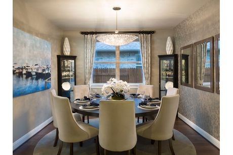 Dining-in-The Spanish Oak (4014)-at-Trails at Westpointe - Woodland Collection-in-San Antonio